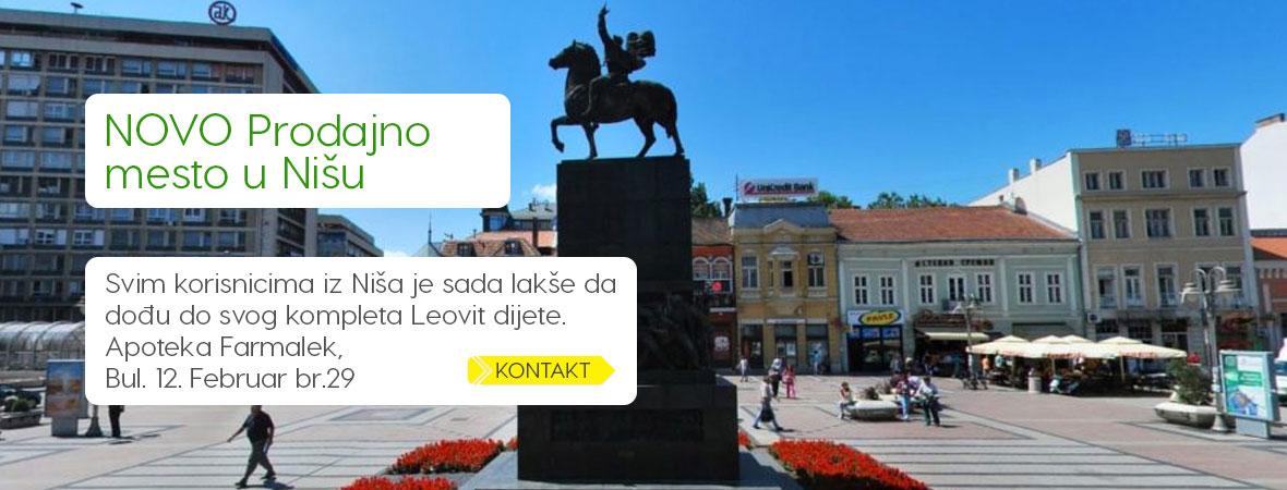 Leovit prodajno mesto u Nišu